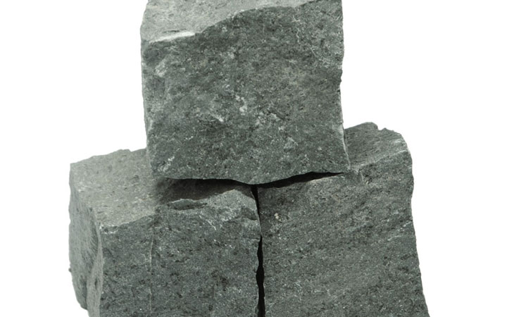 Basaltpflaster 15x17 cm