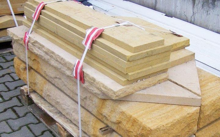 Sandstein-Abdeckung 4cm