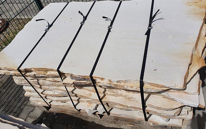 Sandstein-Polygonalplatten 3cm